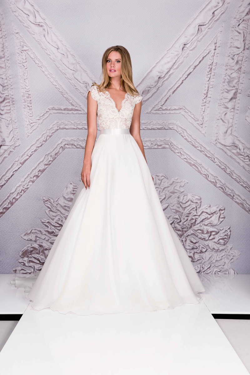 How To Bustle Your Wedding Gown  YouTube