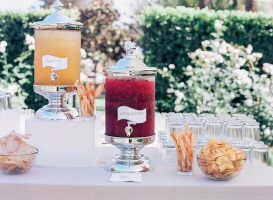 Vodka signature cocktail wedding