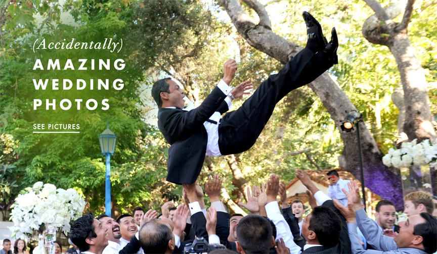 Candid wedding photos that are funny and cute