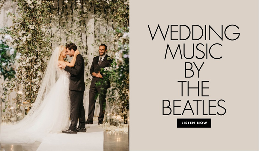wedding music by the beatles for your wedding ceremony reception