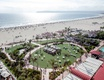 wedding ceremony on grass lawn at hotel del coronado overlooking ocean san diego wedding ideas