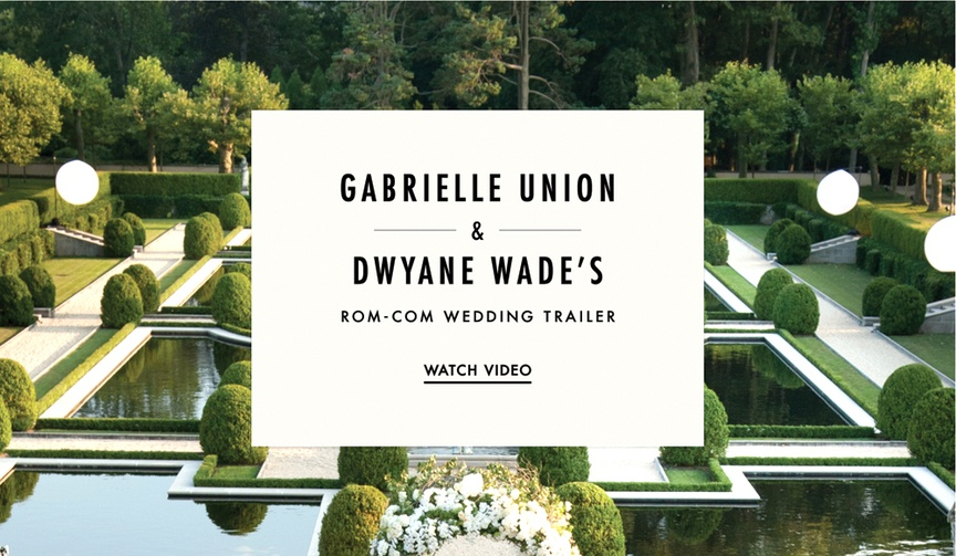 Wedding trailer for Gabrielle Union and Dwyane Wade's wedding video