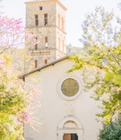 wedding venue in italy destination wedding ceremony chapel at eighth century abbey stone walls