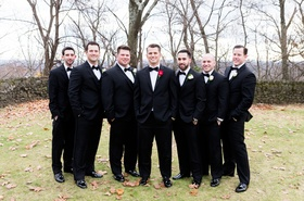 san francisco giants joe panik wedding, joe panik with groomsmen, andrew susac and joe panik