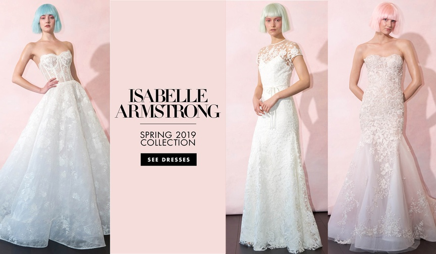 Isabelle Armstrong spring 2019 bridal collection wedding dresses