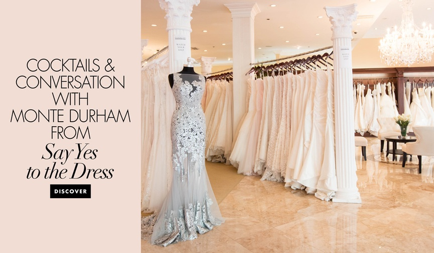 Cocktails and Conversation event with Monte Durham from Say Yes to the Dress event at Panache Bridal