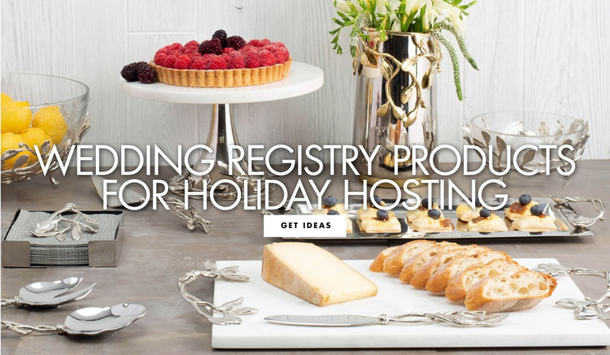 wedding registry  products for hosting the holidays thanksgiving tips from gearys