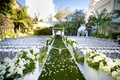 Outdoor wedding at Vibiana in Downtown Los Angeles