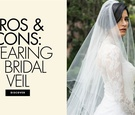 Pros and cons of wearing a bridal veil wedding veil ideas