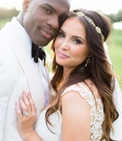 heidi mueller, philadelphia eagles demarco murray wedding portrait