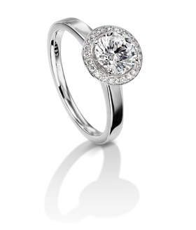 Furrer Jacot 53-66751-5-W white gold engagement ring
