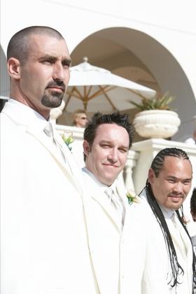 Groomsman at Korn bassist's wedding