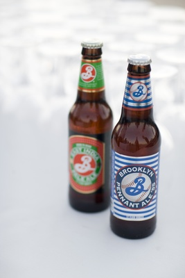 Brooklyn ale beer bottles
