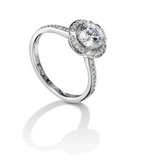 Furrer Jacot 53-66641-0-W platinum engagement ring