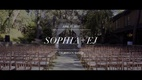 Sophia Rose & EJ Kahn's wedding video.