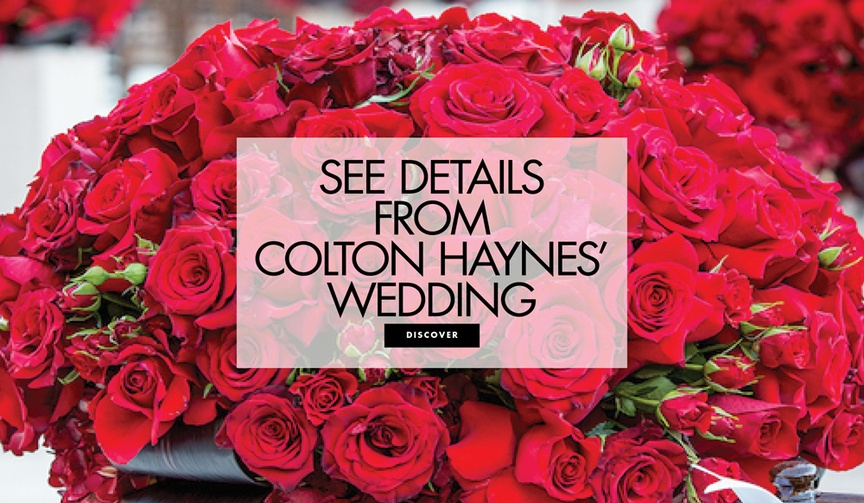 colton haynes and jee leatham wedding video