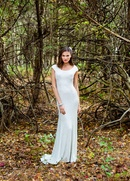 Isabelle Armstrong Fall 2015 Izzy Wedding Dress Front View