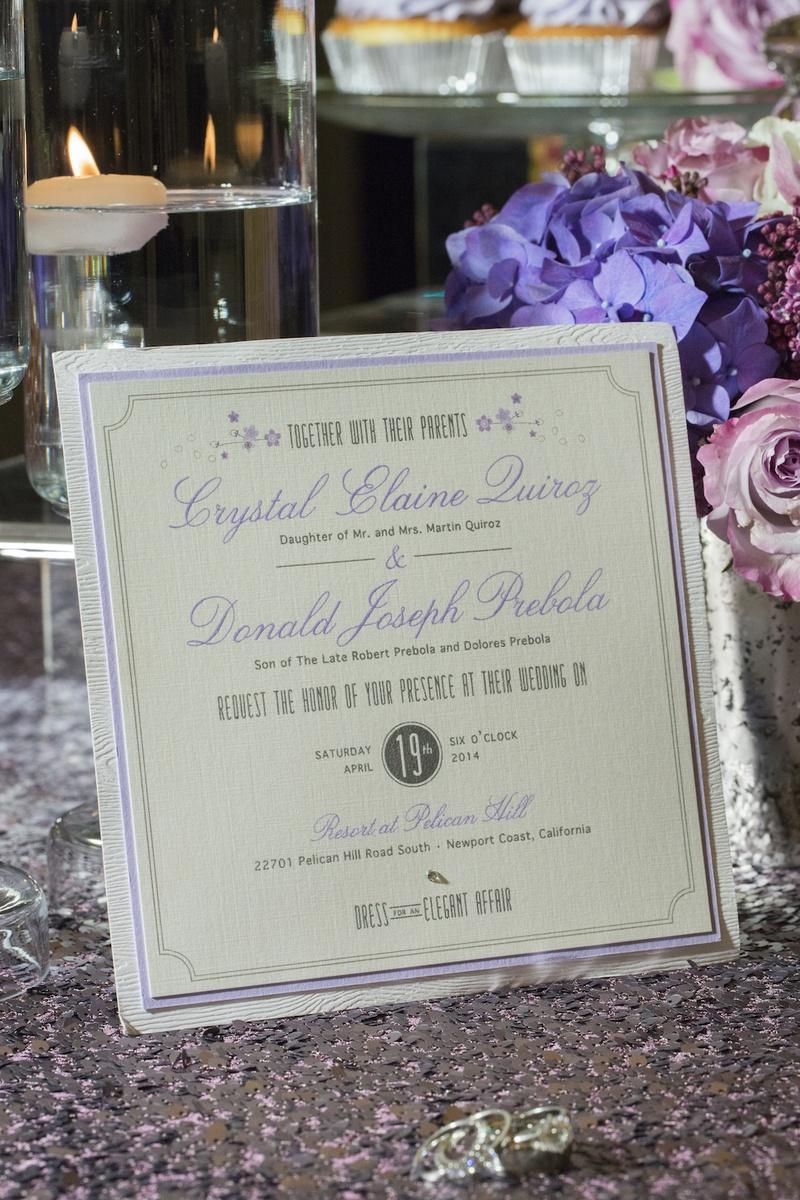 Invitations & More Photos - Wood Grain Invitation - Inside Weddings
