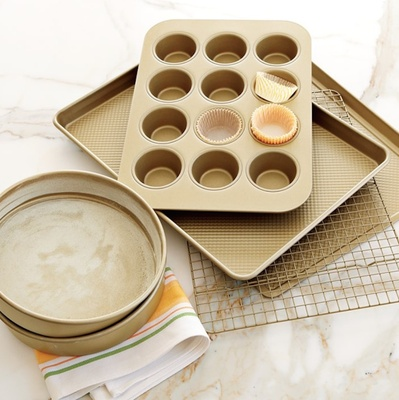 Gold baking set wedding registry gift idea