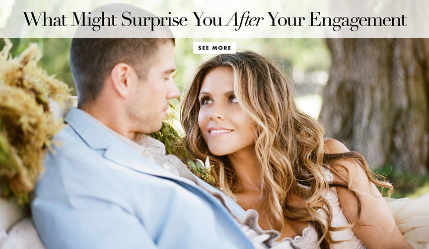 Discover eight surprising things you'll learn after your engagement!