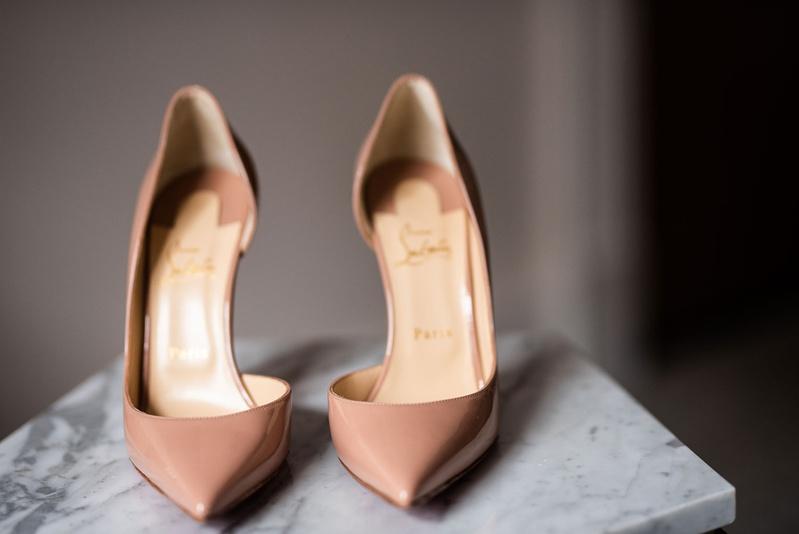 christian louboutin nude patent leather iriza pumps 100mm stilettos wedding bridal shoes