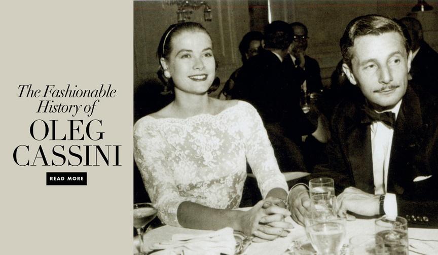 Oleg Cassini wedding dress designer and fashion history