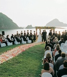 El Careyes Resort & Spa beachside wedding