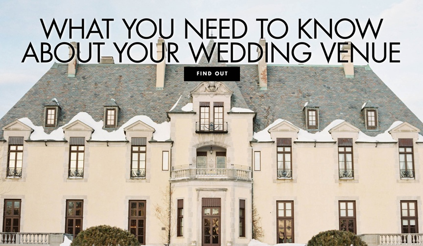 oheka castle wedding, what you need to know about your wedding venue