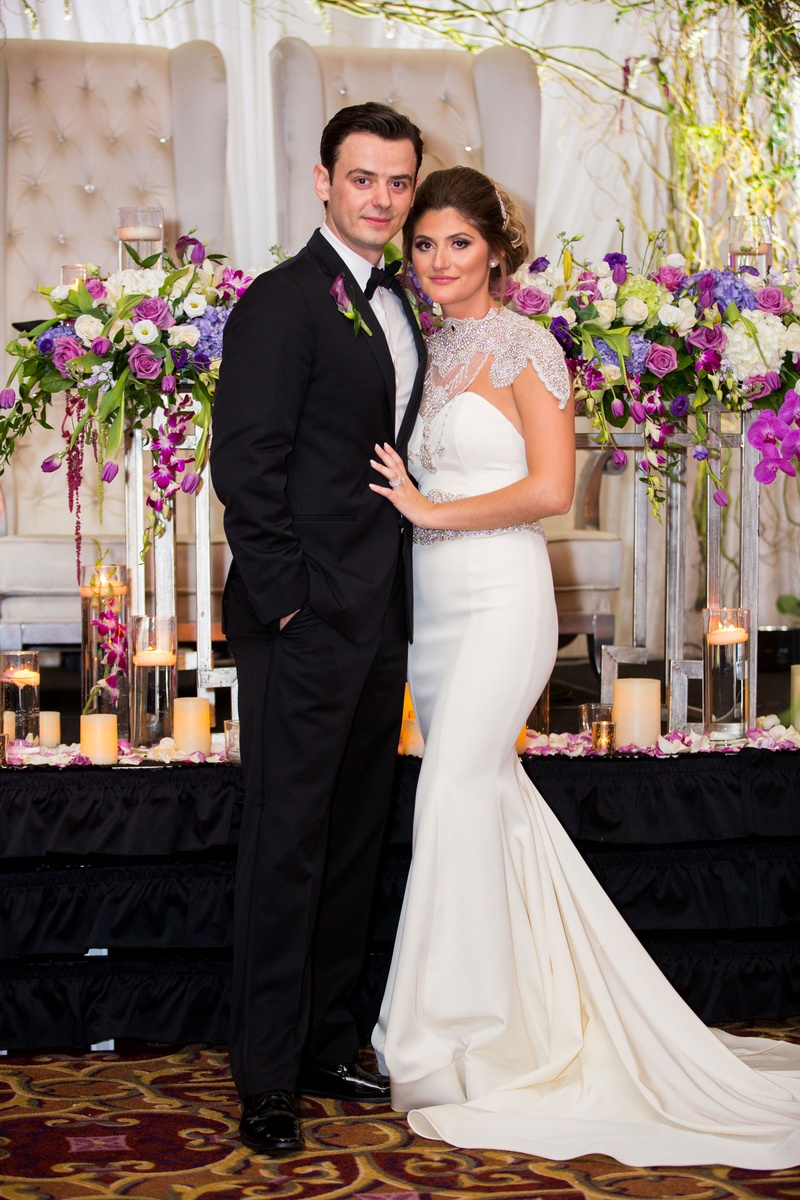 Couples Photos Bride In Second Gown At Reception Inside