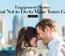 Engagement Photos: What Not to Do to Make Yours Great