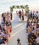 cabo san lucas destination wedding at private beach house by the ocean