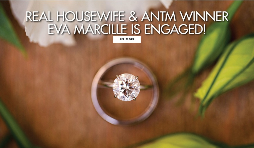 eva marcille and mike sterling engaged, real housewives of atlanta, america's next top model