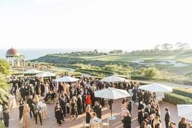 outdoor resort venue southern california golf course pelican hill newport beach reception wedding