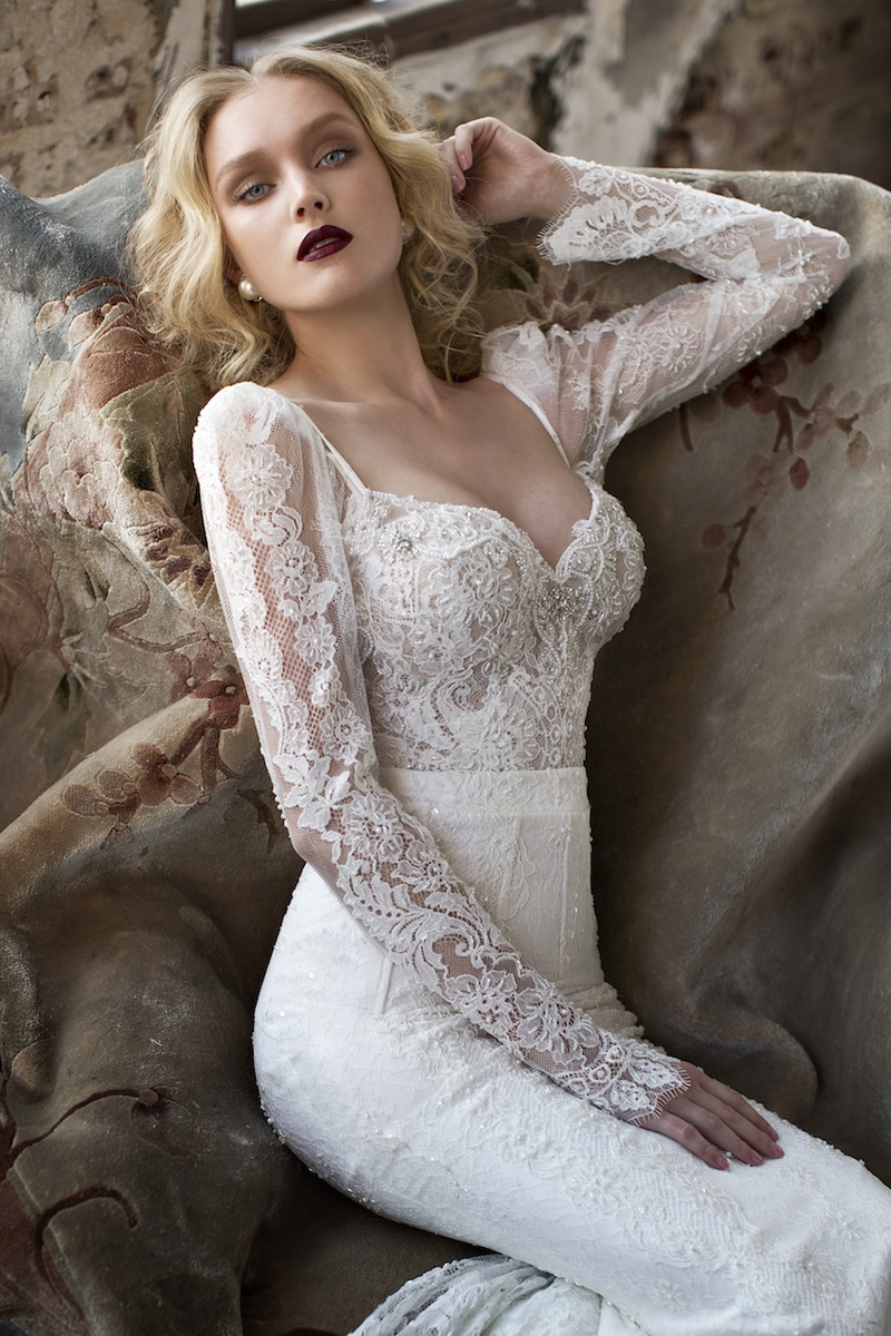 Wedding Dresses: Low-Back Gowns by Julie Vino - Inside Weddings