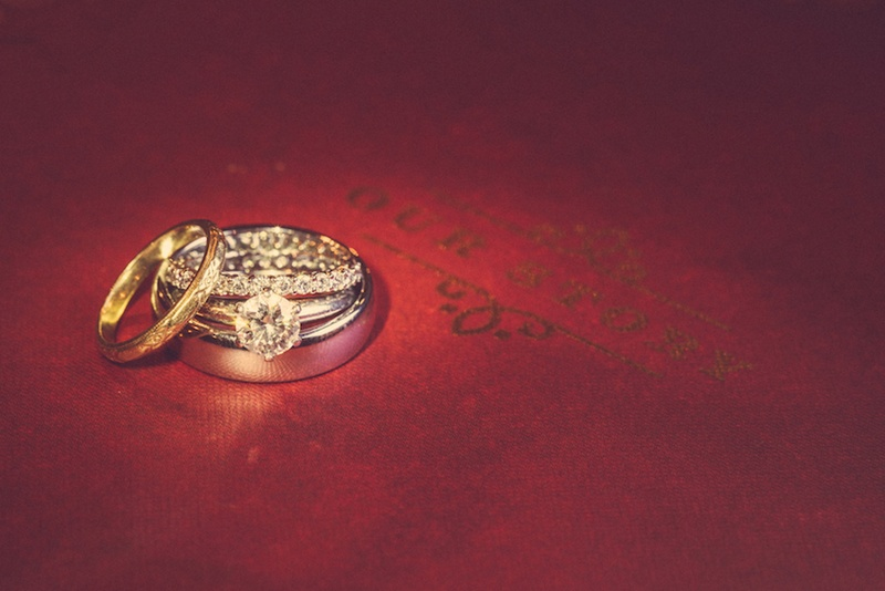 Jewelry Photos Gold Wedding Band Diamond Rings Inside Weddings