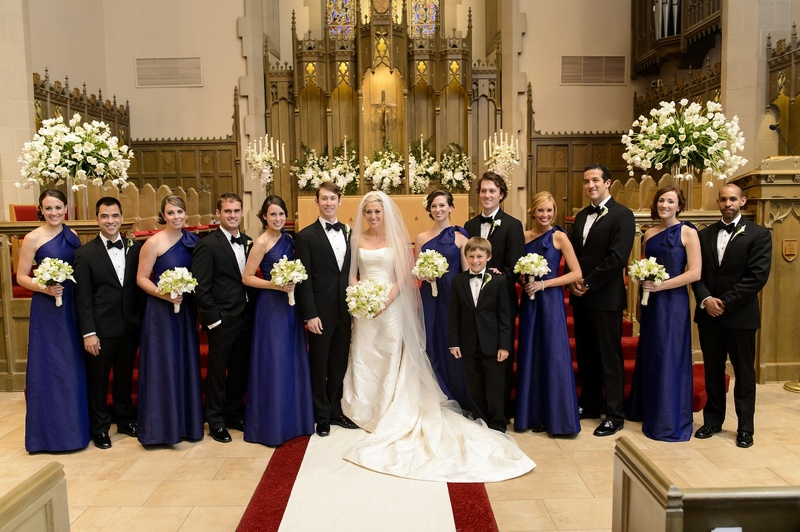 Guests & Family Photos - Church Wedding Party - Inside Weddings