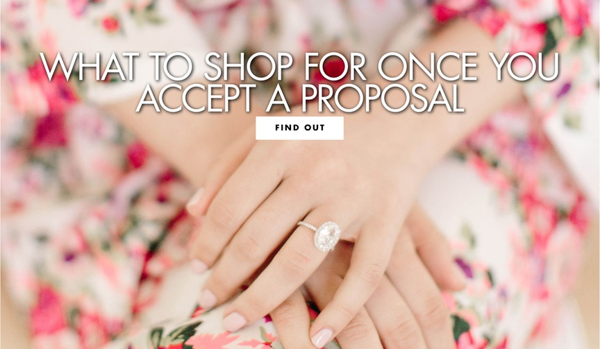 what to shop for once you accept a proposal shopping list for engaged couples