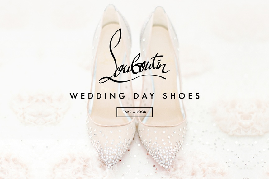 Wedding Day Shoe Choices by Christian Louboutin