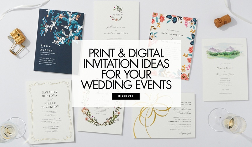 Planning amp Design News Invitations and More Inside Weddings