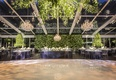 Impeccable lighting and greenery beckon guests to the dancefloor.