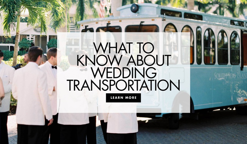 Find out if you should provide transportation for your wedding guests.