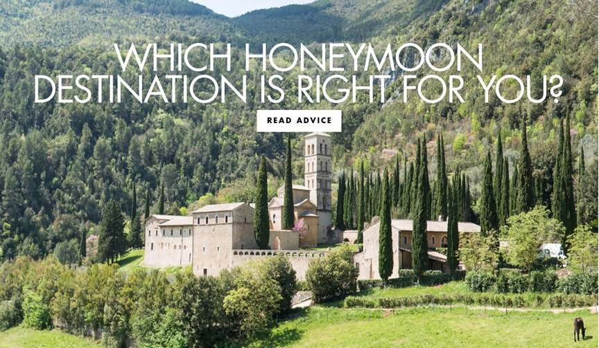 which honeymoon destination is right for you honeymoon vacation location ideas