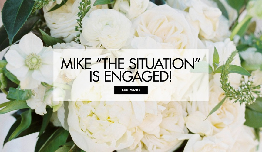 "mike ""the situation"" sorrentino engaged to lauren presca, jersey shore family vacation"