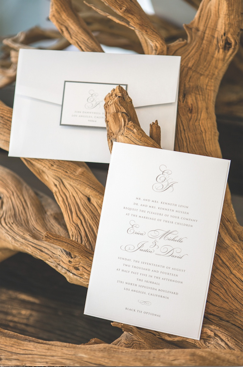 Invitations & More Photos - Elegant and Simple Invitation - Inside ...