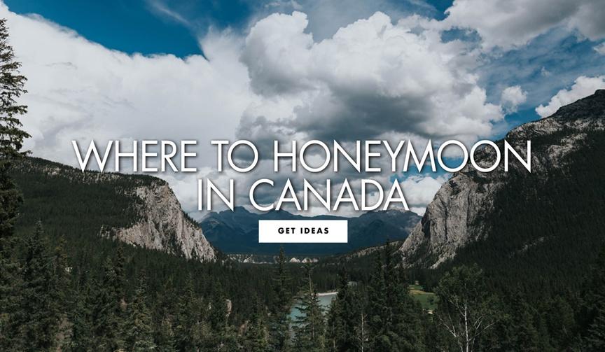 where to honeymoon in canada