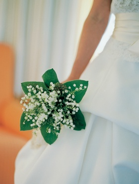 Lilies of the valley bouquet like Kate Middleton's bouquet