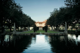 Courtyard of Vizcaya Museum and Gardens