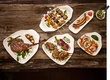 Villeroy & Boch Gifts porcelain plates and dishes modified for serving incorporating different foods