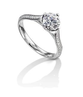 Furrer Jacot 53-66701-0-W platinum engagement ring