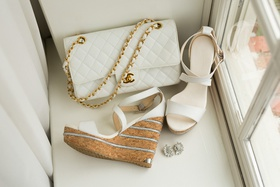 jimmy choo sandals with cork wedges for wedding, white chanel quilted purse with gold chain strap